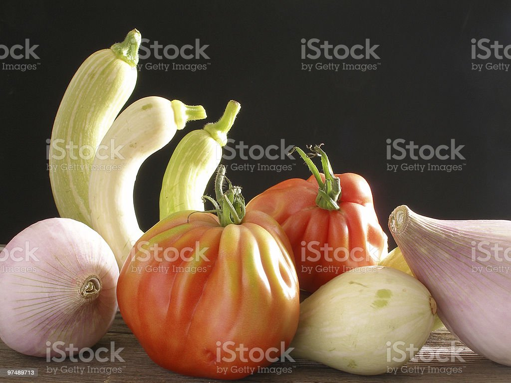 Old fashion vegetables royalty-free stock photo