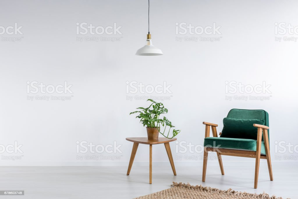 Old Fashioned Armchair Stock Photo - Download Image Now ...