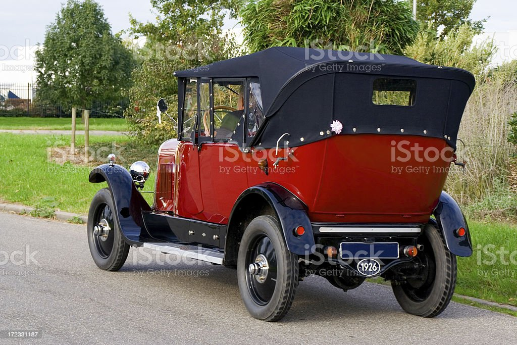 Old fashioned car # 6 royalty-free stock photo