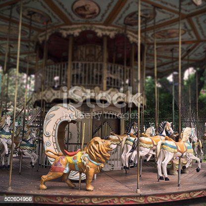 Carousel in Buenos Aires, Argentina