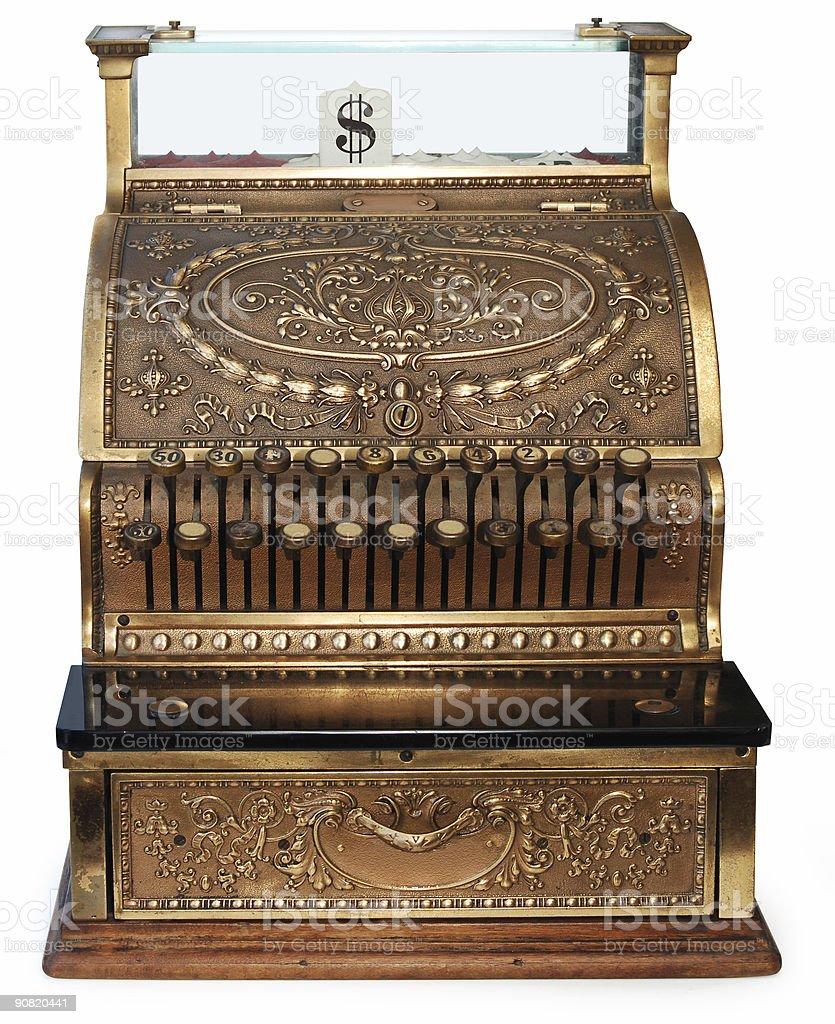 old fashioned caixa registradora ortográfico - foto de acervo