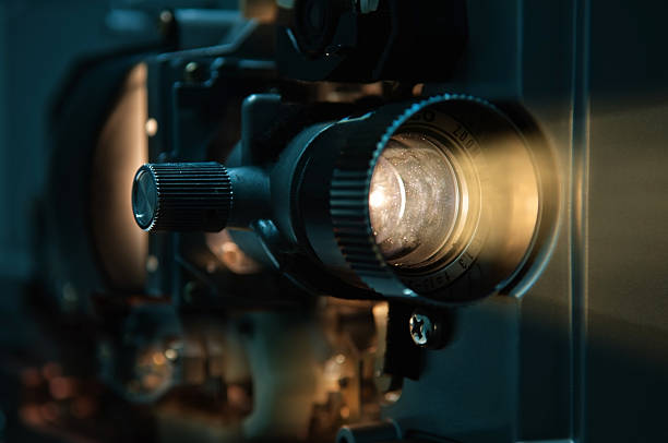 Old fashioned Film Projector 8 mm Film Projector performing arts event stock pictures, royalty-free photos & images