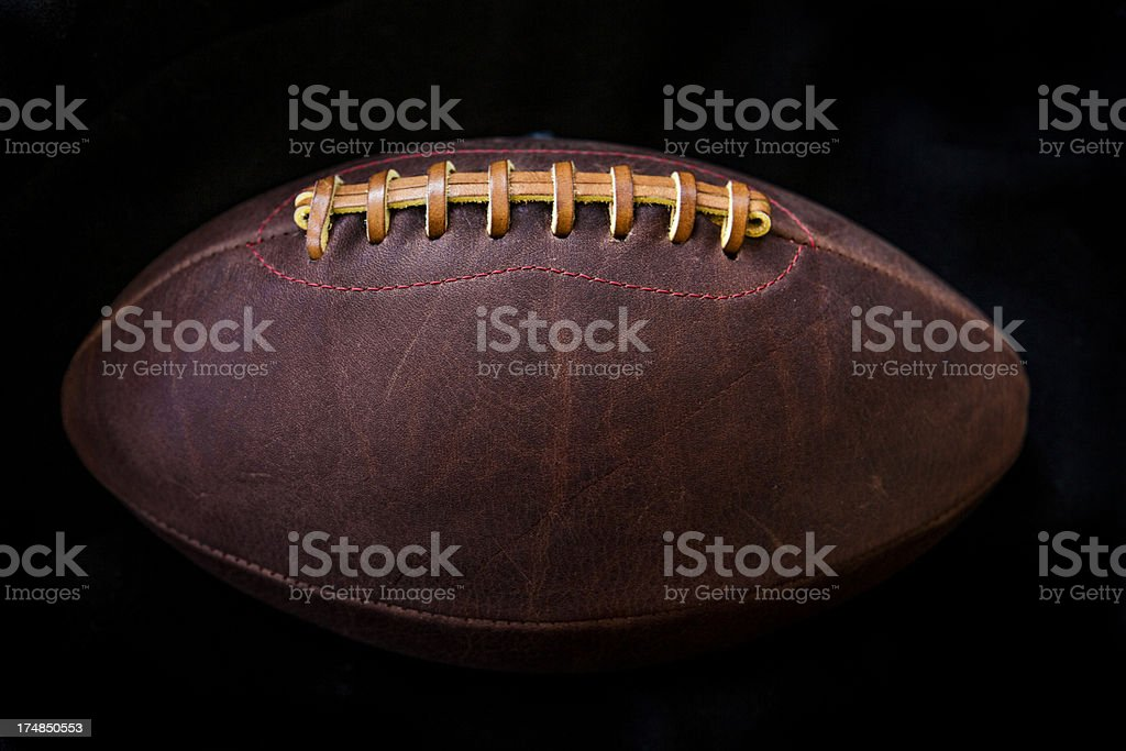 Old fashioned football royalty-free stock photo