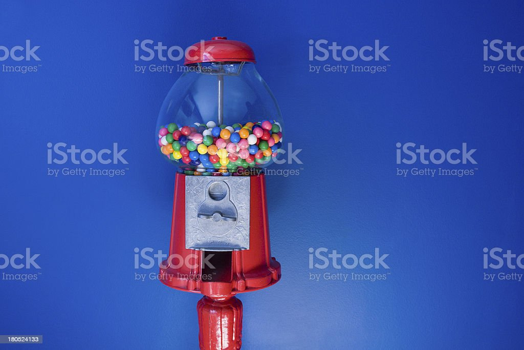 Old Fashioned Gumball Machine stock photo