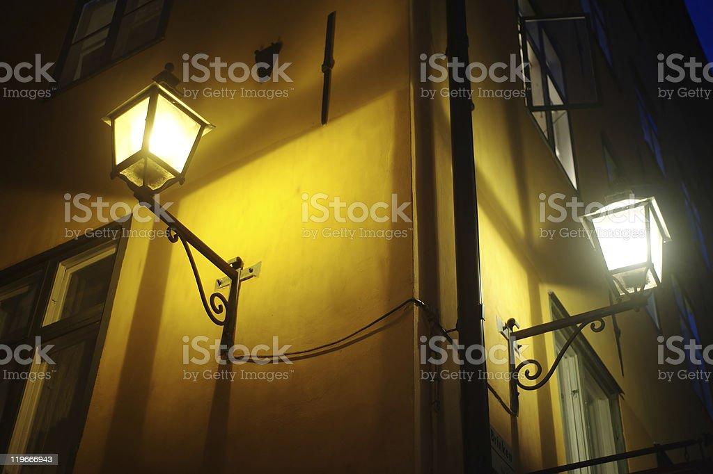Old fashioned lantern royalty-free stock photo