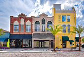 Old Fashioned Main Street Building Exteriors
