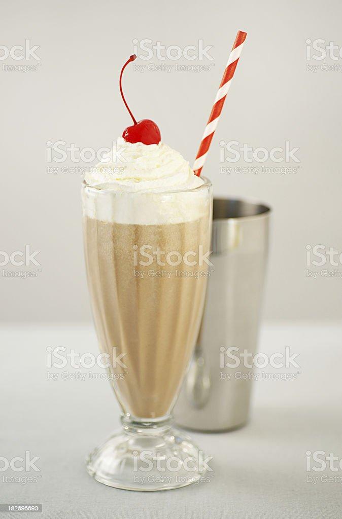 Old Fashioned Milk Shake stock photo