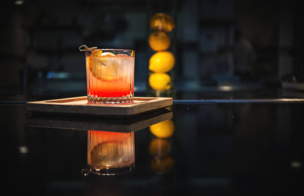 Old Fashioned on The Bar