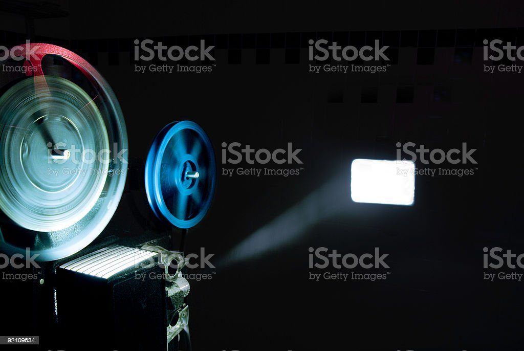 Old Fashioned Projector stock photo
