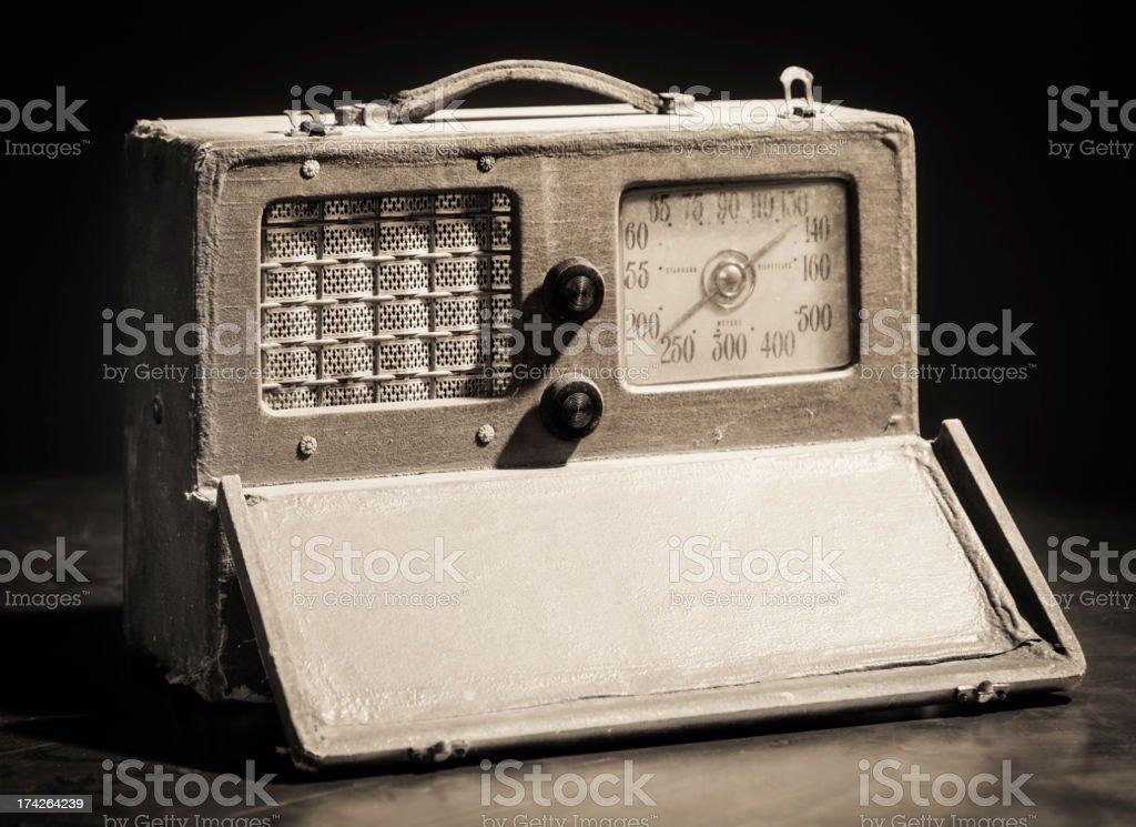 Old Fashioned Radio royalty-free stock photo