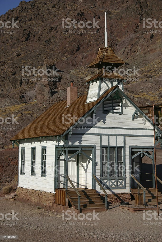 Old Fashioned Schoolhouse royalty-free stock photo
