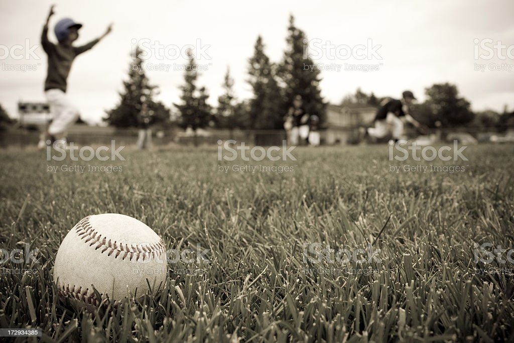 Old Fashioned TBall stock photo