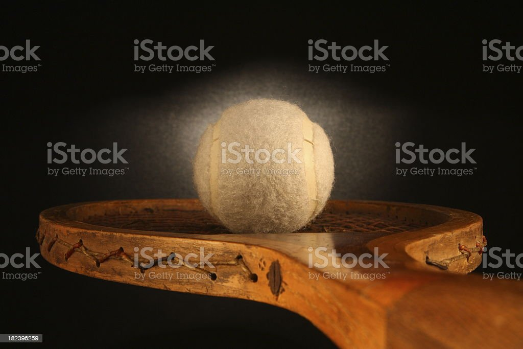 Old Fashioned Tennis stock photo
