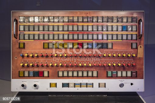 Old fashioned switch board.