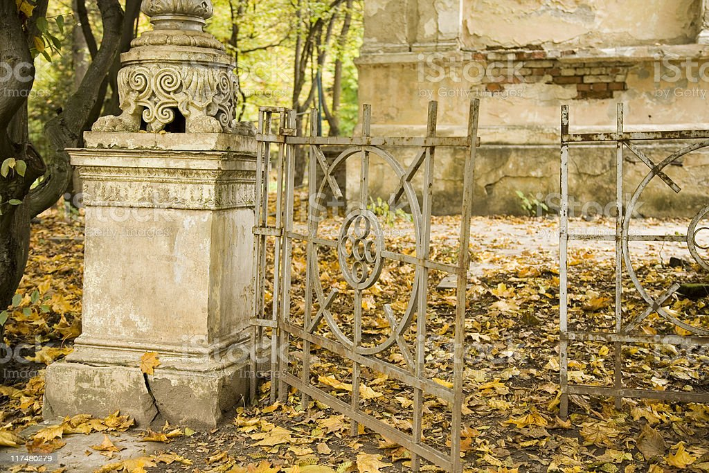 Old fence royalty-free stock photo