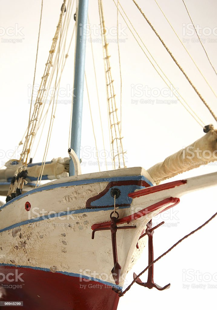 Old Fhising Boat royalty-free stock photo