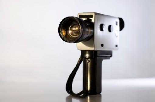 istock Old film camera 167309233