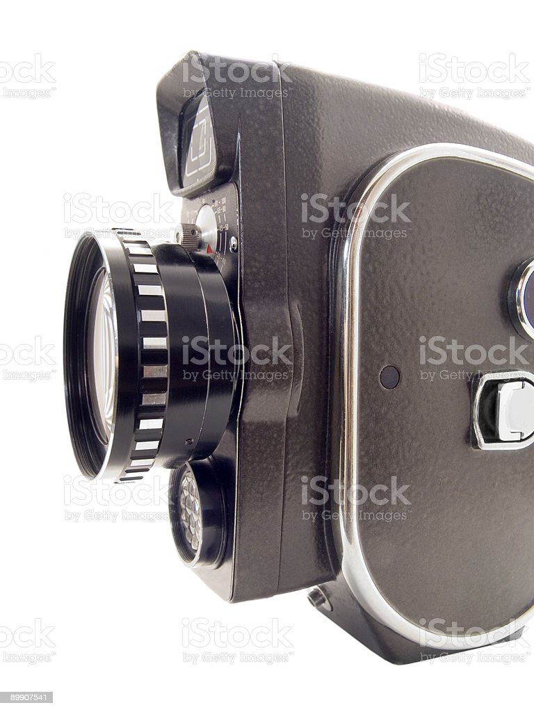 old film camera royalty-free stock photo