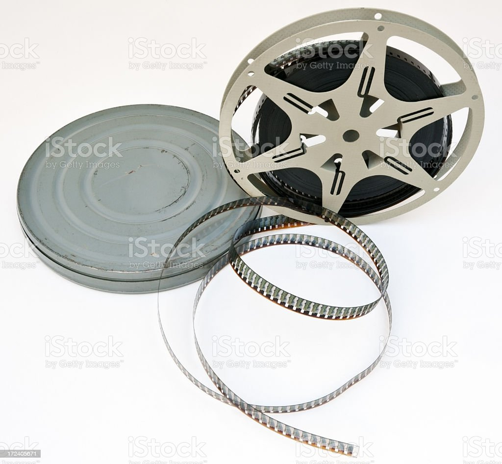 Old Film Canister royalty-free stock photo