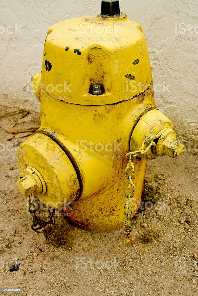 Old Fire Spout royalty-free stock photo