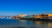 The Old Fisherman's Wharf in Monterey, California, a famous tourist attraction