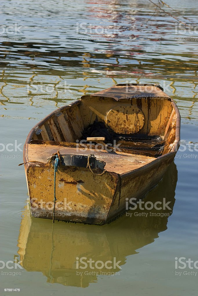 Old fishing boat royalty-free stock photo