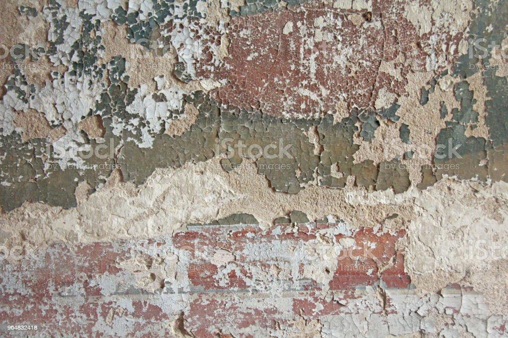 Photo Libre De Droit De Ancienne Peinture Blanche