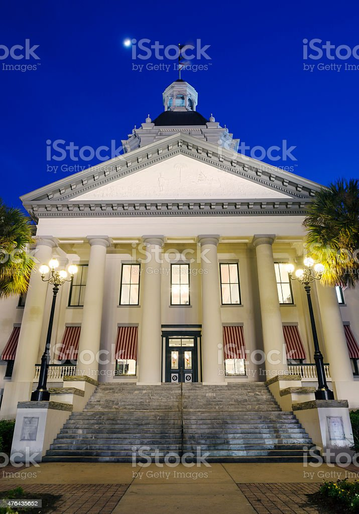 Old Florida State Capitol In Tallahassee stock photo