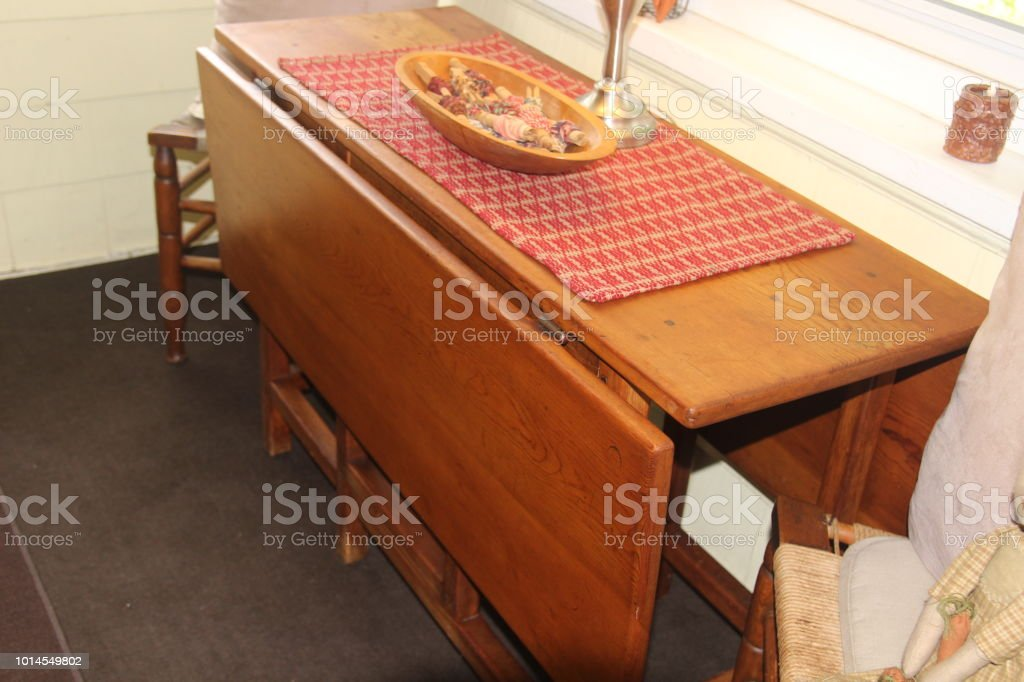Phenomenal Old Folding Farm Table Antique Stock Photo Download Image Download Free Architecture Designs Intelgarnamadebymaigaardcom
