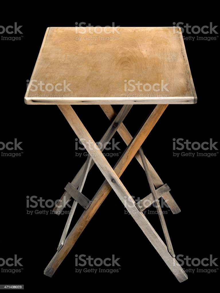 Magnificent Old Folding Wooden Table Stock Photo Download Image Now Download Free Architecture Designs Intelgarnamadebymaigaardcom