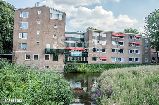 istock Old Folkshome The Open Hof At Amsterdam East The Netherlands 1323164493