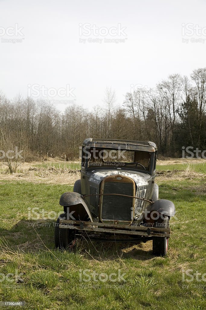 Old Ford car royalty-free stock photo