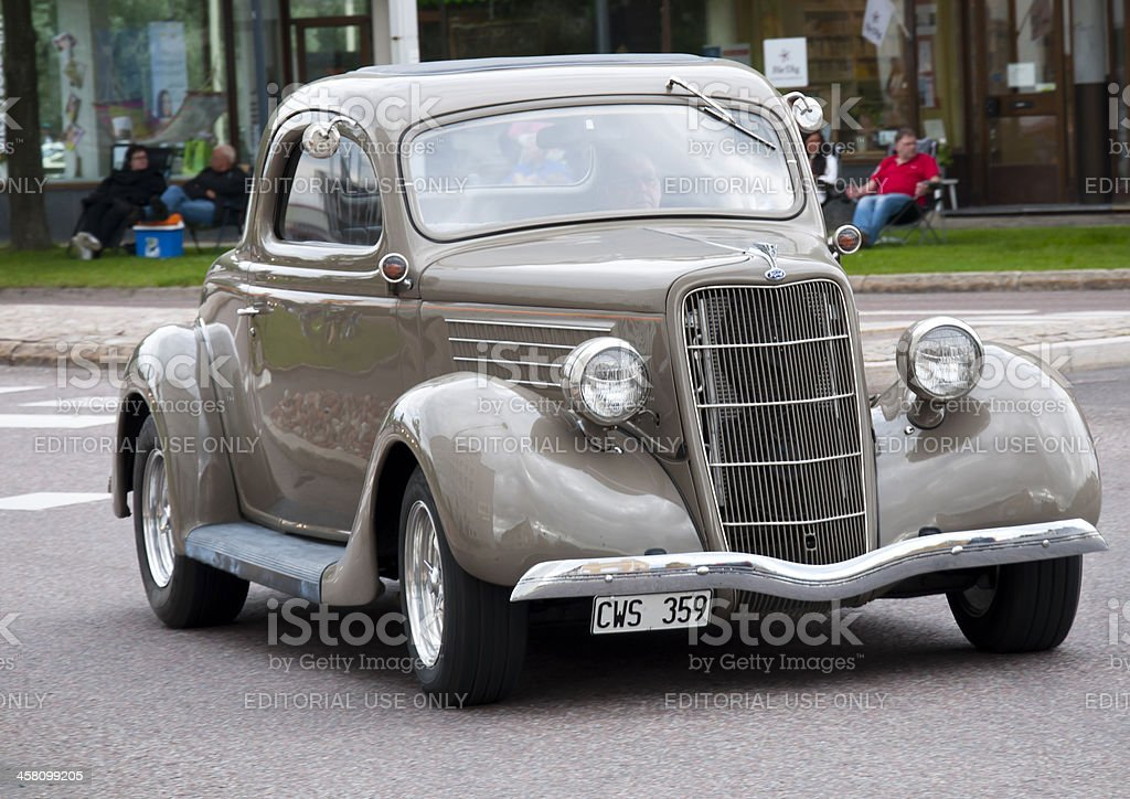 Old Ford from 1935 stock photo