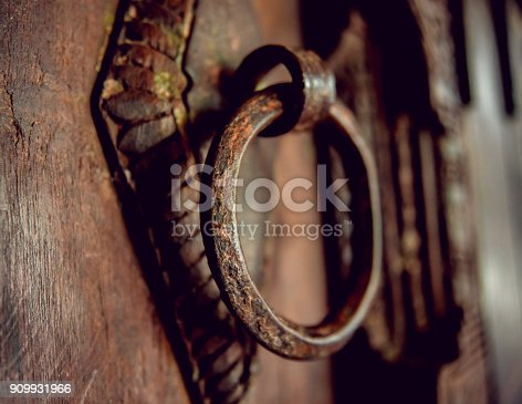 istock Old forge at the beginning of gold mining 909931966