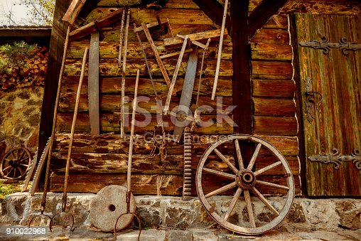 istock Old forge at the beginning of gold mining 910022968