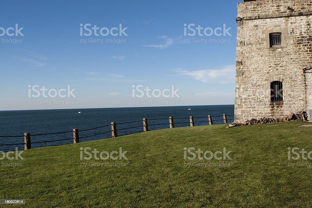 Old Fort Niagara royalty-free stock photo