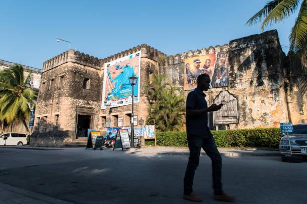 Old Fort of Zanzibar stock photo
