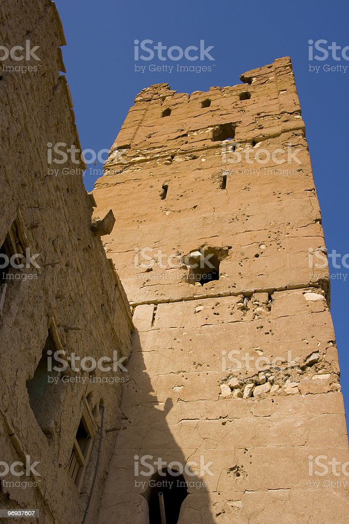 Old Fort royalty-free stock photo