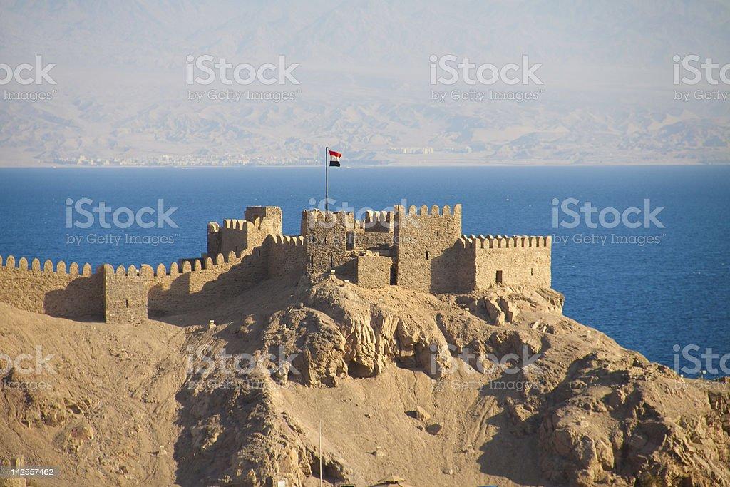 La antigua fortaleza - foto de stock