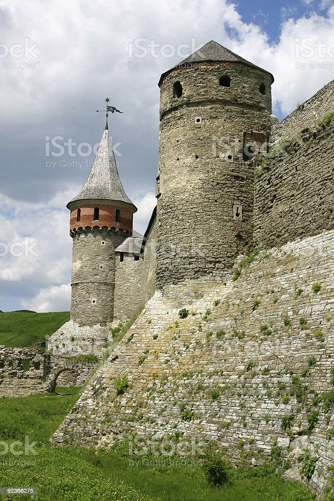 Old fortress royalty-free stock photo