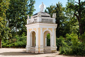 istock Old fountain in Wilhelmsbad 186804459