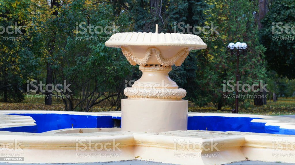 Old fountain. stock photo