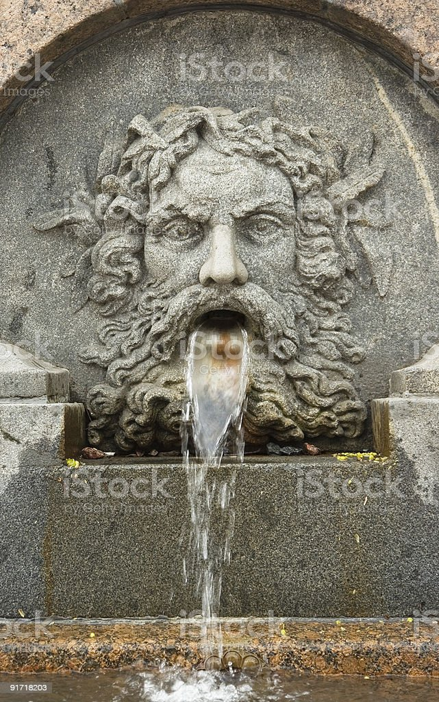 Old fountain royalty-free stock photo