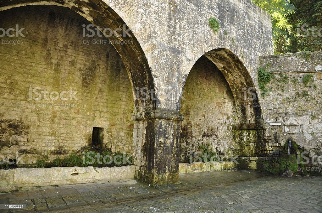 Old Fountains royalty-free stock photo