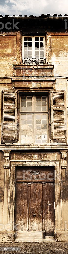 Old french house royalty-free stock photo
