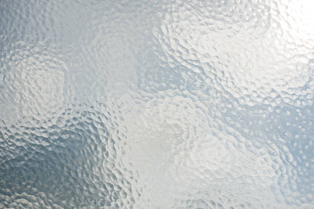 old frosted glass - glass material stock pictures, royalty-free photos & images