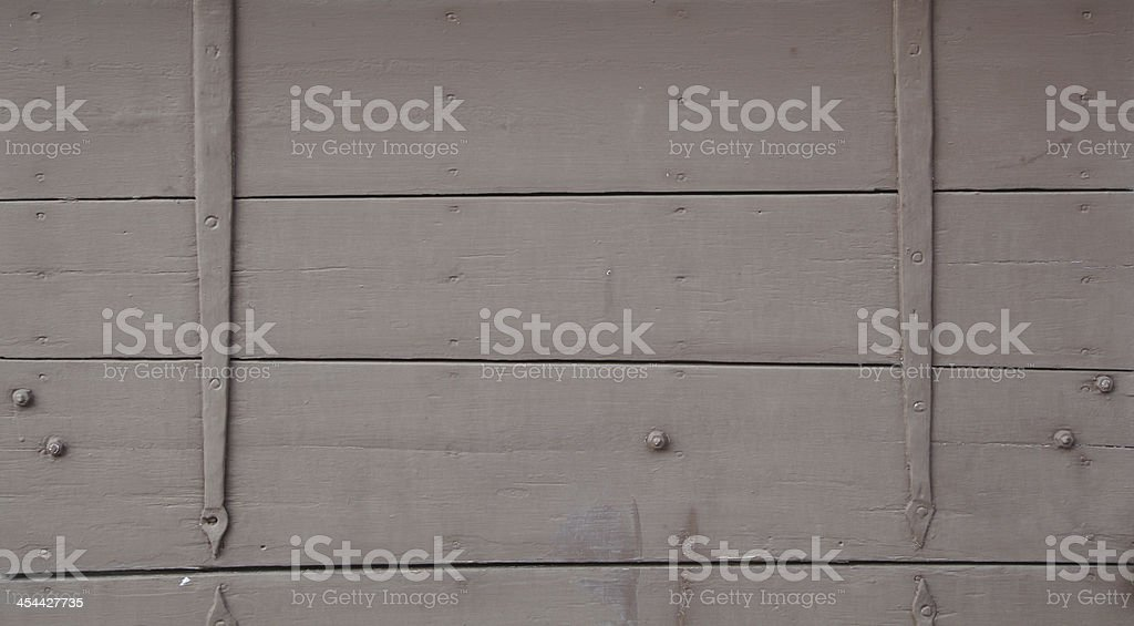 Old Full Timber Wall Background royalty-free stock photo