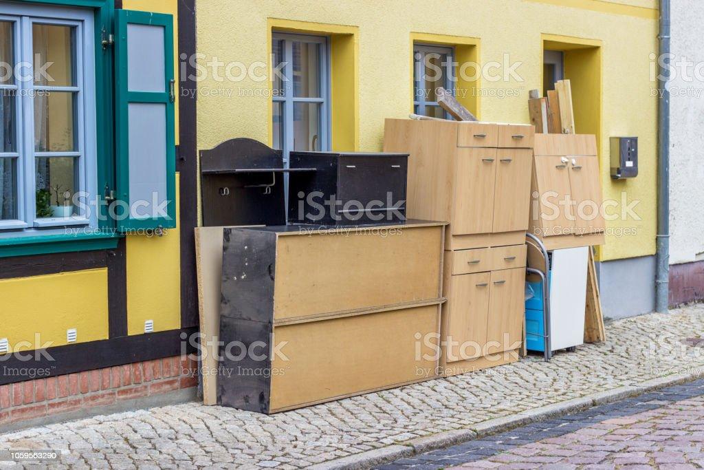 alte Möbel und Güter – Foto