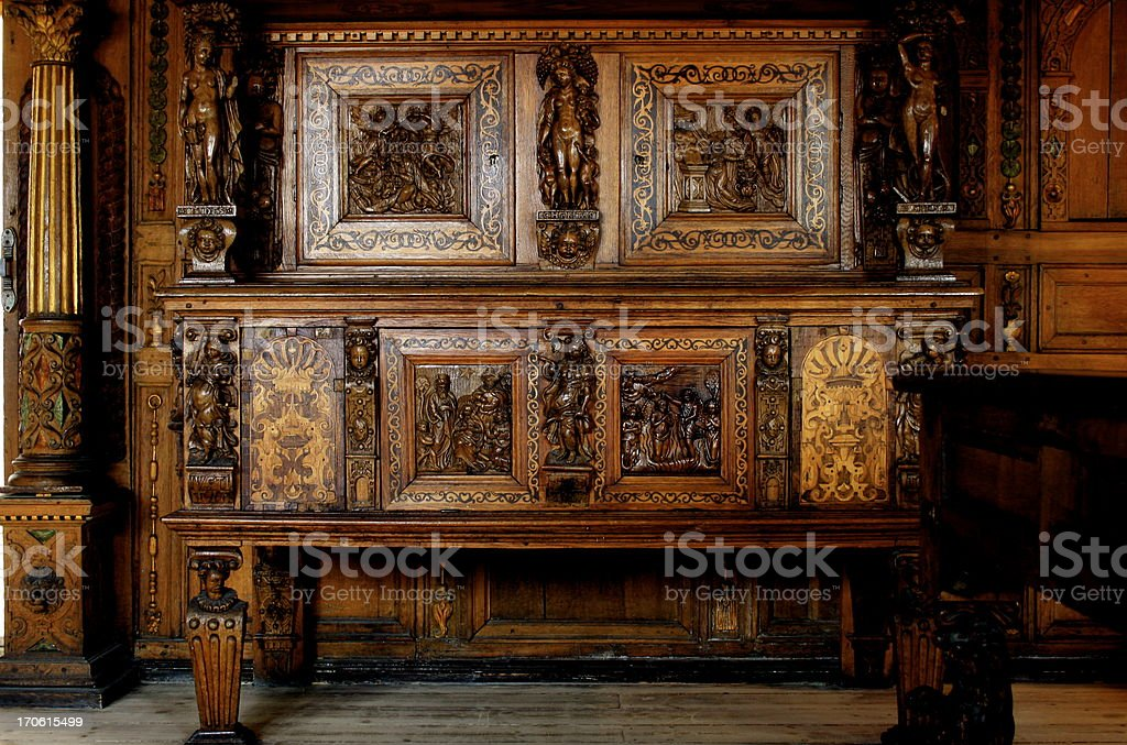 old furniture royalty-free stock photo