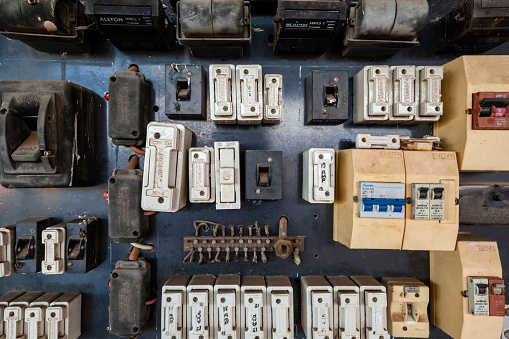 Old fuse box, Australia